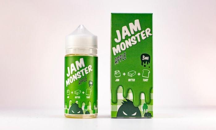 JAM MONSTER – APPLE 100ml 3mg (USA)