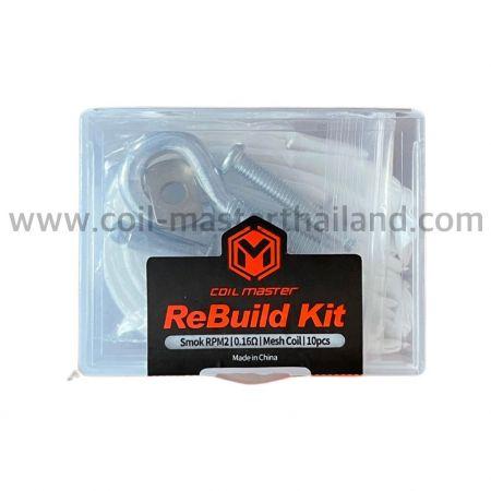 Coil Master ReBuild Kit(RBK) for RPM2 Mesh 0.16ohm