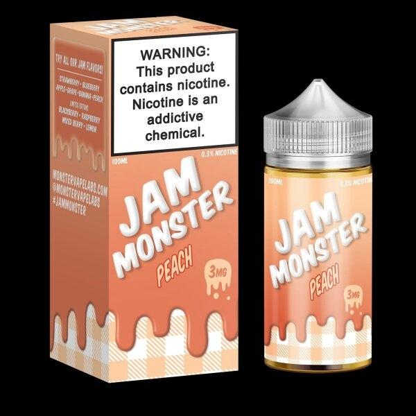 JAM MONSTER – PEACH พีช 100ml 3mg/6mg (USA)