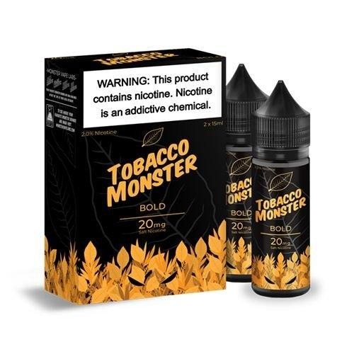Tobacco Monster - Bold (Salt Nic) 15ml 20mg/40mg (USA) แบบ1ขวด