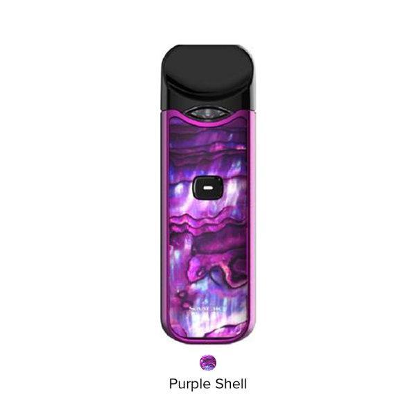 Smok Nord Pod Kit -Purple shell ใช้ได้ทั้งSalt Nic และน้ำยาทั่วไป