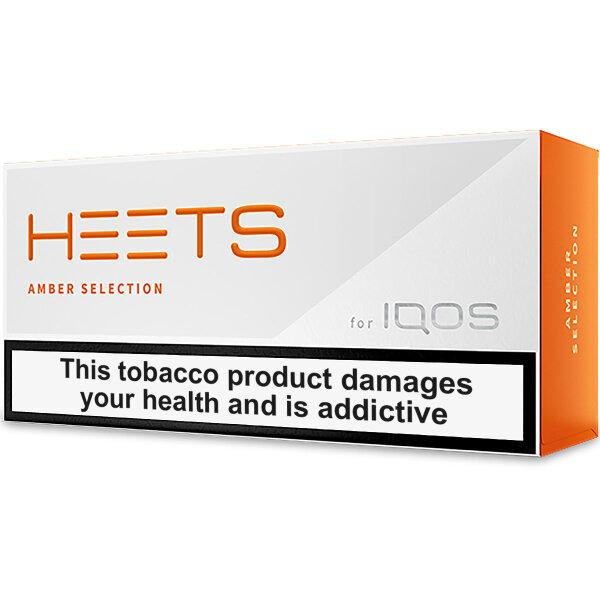 IQOS HEETS (Russia)- Amber Selection (แบบร้อน) ซอง/คอต