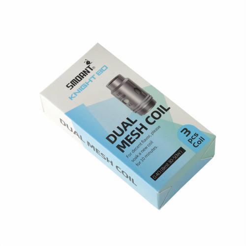 Coil สำหรับ Smoant Knight 80 DUAL COIL 0.4 ohm ราคาต่อกล่อง3ตัว