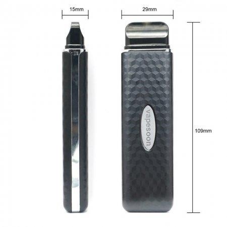 Vapesoon VSA 1000mAh Pod Kit 1.2 Ohm 2ml แท้ ใช้ดี