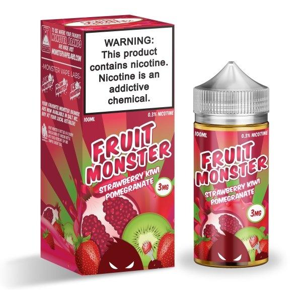 Fruit Monster - Strawberry Kiwi Pomegranate 100ml 3mg (USA)