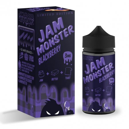 JAM MONSTER – BLACKBERRY 100ml 3mg (USA)