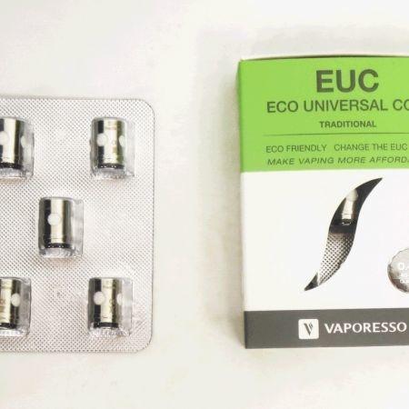 Coil คอยล์อะไหล่ EUC Coil Clapton0.4 สำหรับ Tarot Nano