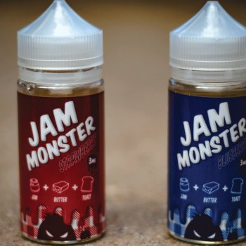 JAM MONSTER – STRAWBERRY 100ml 3mg (USA)