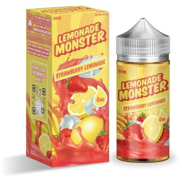 Lemonade MONSTER – Strawberry Lemonade 100ml 3mg (USA)