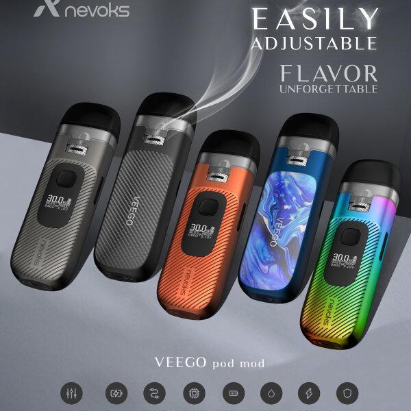 Nevoks Veego Pod Kit 30w 1100mAh รูลม360องศา สูบไม่ต้องกดได้