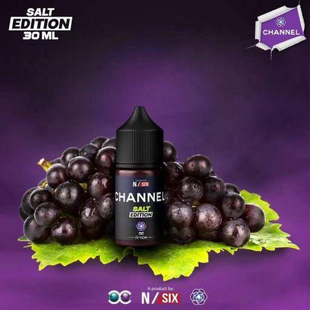 Channel Grape Salt Edition - องุ่นเย็น 30Ml 30mg