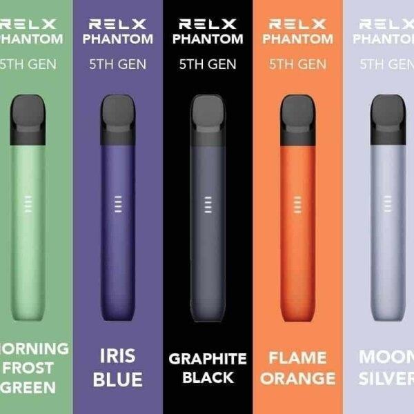 RELX Phantom Pod Device เครื่องเปล่าพร้อมสายชาร์จ 380mAh (ใช้หัวProเดียวกับ Infinity)