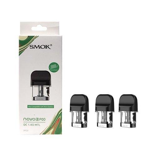 Podของ SMOK - Novo2และ1 MTL1.4 ohm ราคาต่อตัวและแผง