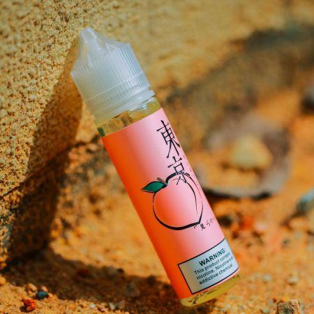 Tokyo Peach - โตเกียวพีช(เย็น) (USA) 60ml 3mg Max VG