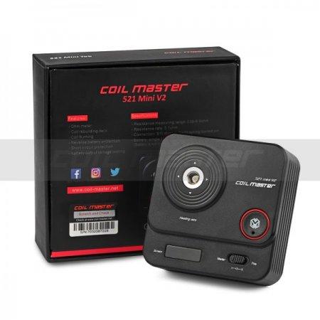 Coil Master 521 v2 mini Tab (วัดโอห์ม เบิร์นลวด)