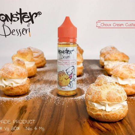 Monster Dessert Choux Cream Custard 50ml