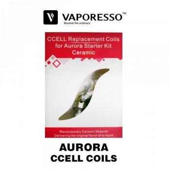 Coil คอยล์อะไหล่ของ Vaporesso AURORA CCELL (Zippo) Coils