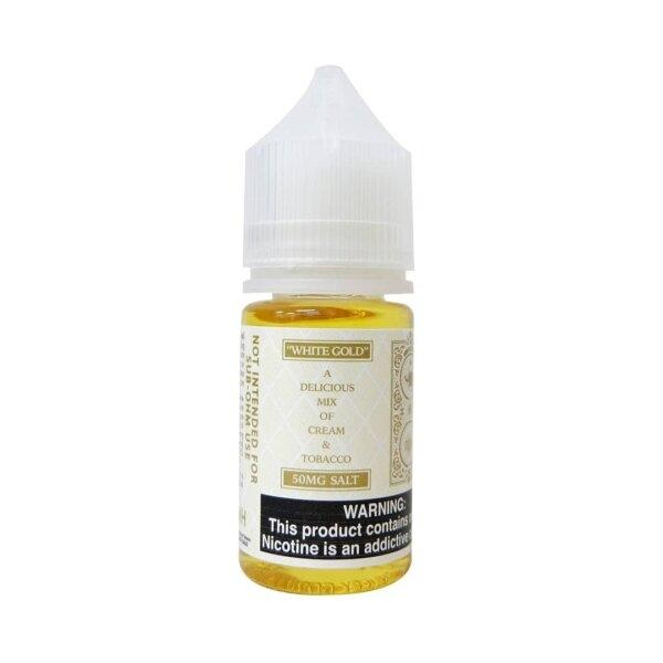 Watson Salt - White Gold (Cream Tobacco) 30ML 30mg/50mg USA