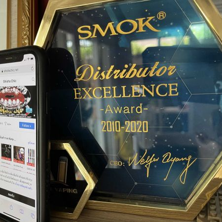 SMOK Distributor Excellence Award