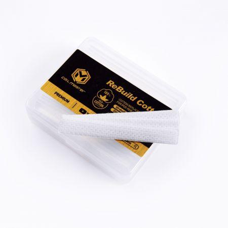 Coil Master Rebuild Cotton (RBC) for POD - Premium(Silk Cotton)