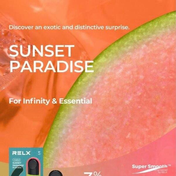 RELX Pod Pro (Infinity,Essential) - Sunset Paradise (Icy Guava ฝรั่ง) 2ml Nic3% กล่อง1ตัว