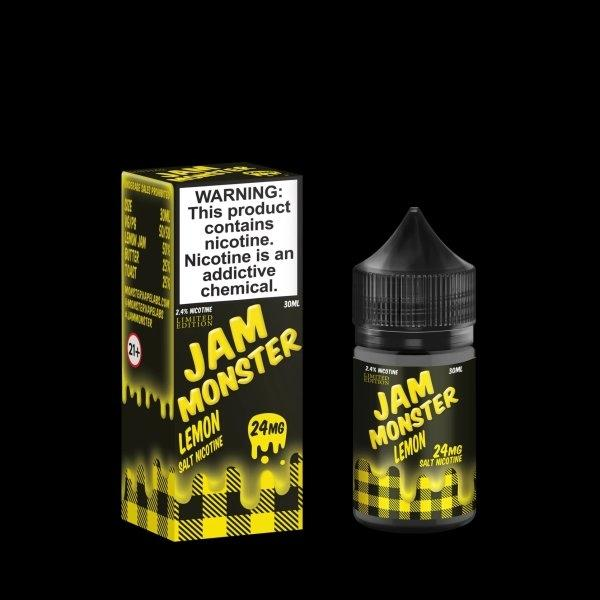 JAM MONSTER(Salt Nic) – LEMON 30ml 24mg/48mg (USA)
