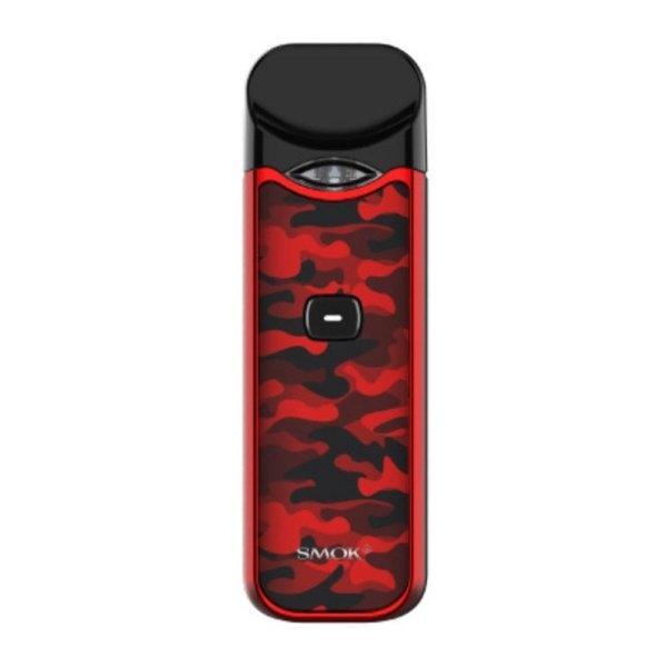 Smok Nord Pod Kit -Red camouflage ใช้ได้ทั้งSalt Nic และน้ำยาทั่วไป