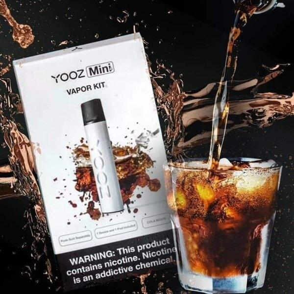 YOOZ Mini Kit 240mAh - Yooz mini + Cola Beats เครื่องมินิพร้อมหัวโค้ก1หัว