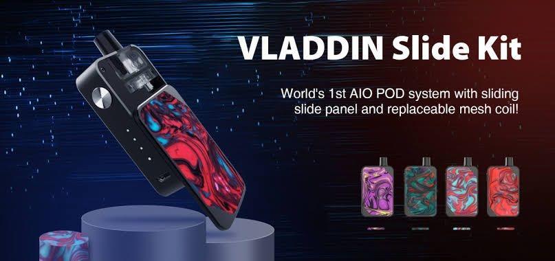 Vladdin Slide Aio Vape Pod System Kit 1000mAh