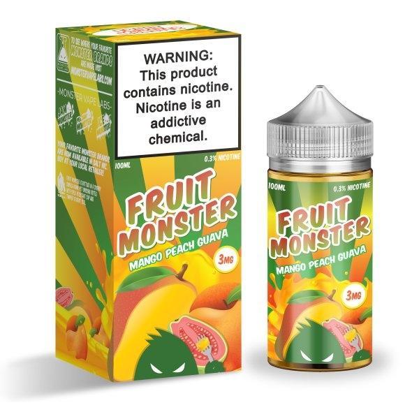 Fruit Monster - Mango Peach Guava 100ml 3mg (USA)