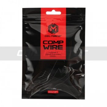 Coil Master COMP WIRE 10ft/3m + Japanese Cotton