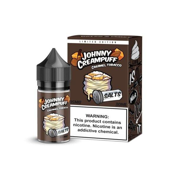 Johny Creampuff(Salt Nic) – Caramel Tobacco 30ml 35mg/50mg (USA)