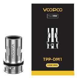 Coil สำหรับ Voopoo TPP-DM1 0.15ohm Coil ราคากล่อง3ตัว