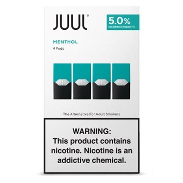 JUUL Pods - Mentol 5% กล่องละ4ตัว แท้USA