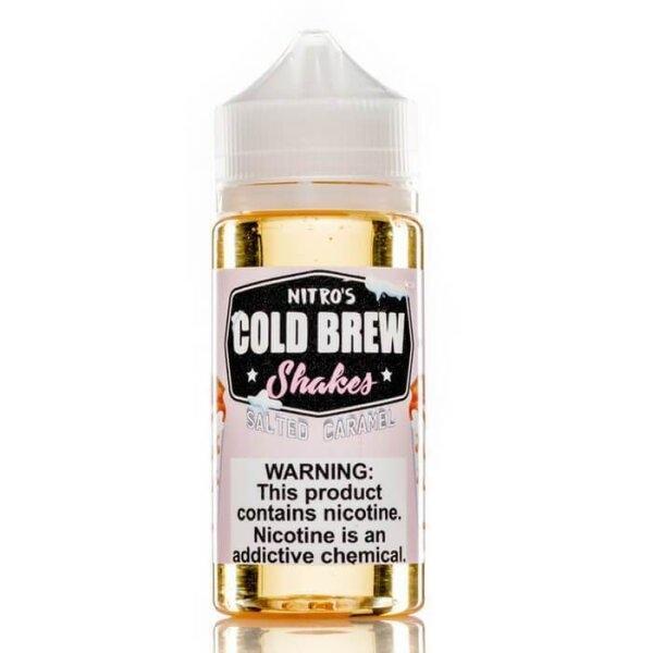 Nitro's Cold Brew Shakes -  Salted Caramel 100ml 3mg (USA) แท้!!