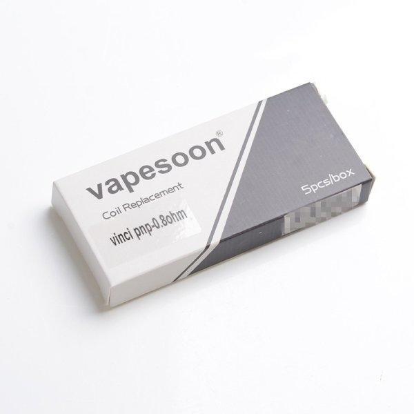 Coil Vapesoon สำหรับ VINCI Pod PnP-R1 MTL 0.8ohm Coil ราคาต่อแผง5ตัว (ไม่มีเคลมนะครับ)
