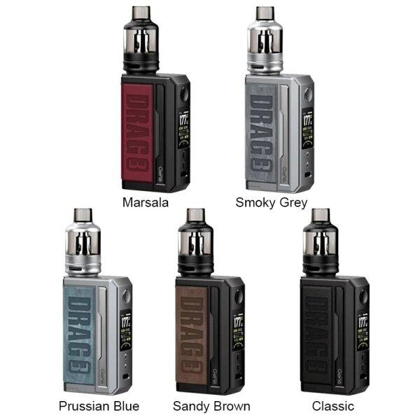 VOOPOO Drag 3 Kit 177W with TPP Pod Tank 5.5ml (ใช้18650 2ก้อน) แท้