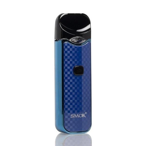 Smok Nord Pod Kit -Carbon Blue คาร์บอนน้ำเงิน ใช้ได้ทั้งSalt Nic และน้ำยาทั่วไป