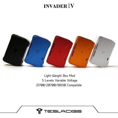 Tesla Invader IV(เทสล่า4) 280w Box Mod แท้!!