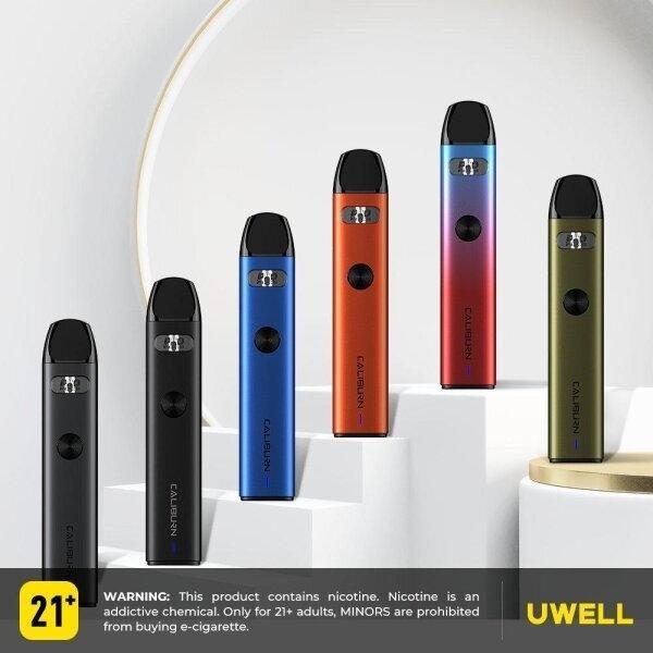 Uwell Caliburn A2 Pod Kit 15w 2ml แท้ แบตฯจุ 520mAh แท้