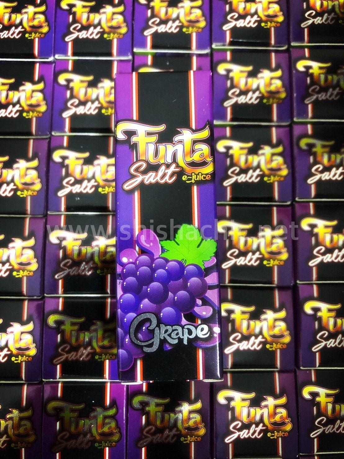 Funta SaltNic - Grape  10ml 35mg