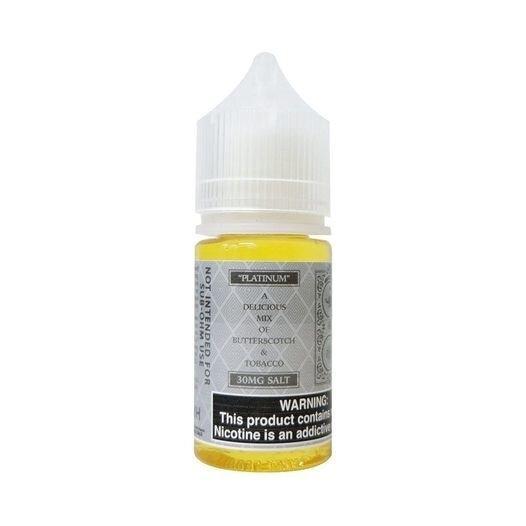 Watson Salt - Platinum (Butterscotch Tobacco) 30ML 30mg/50mg USA