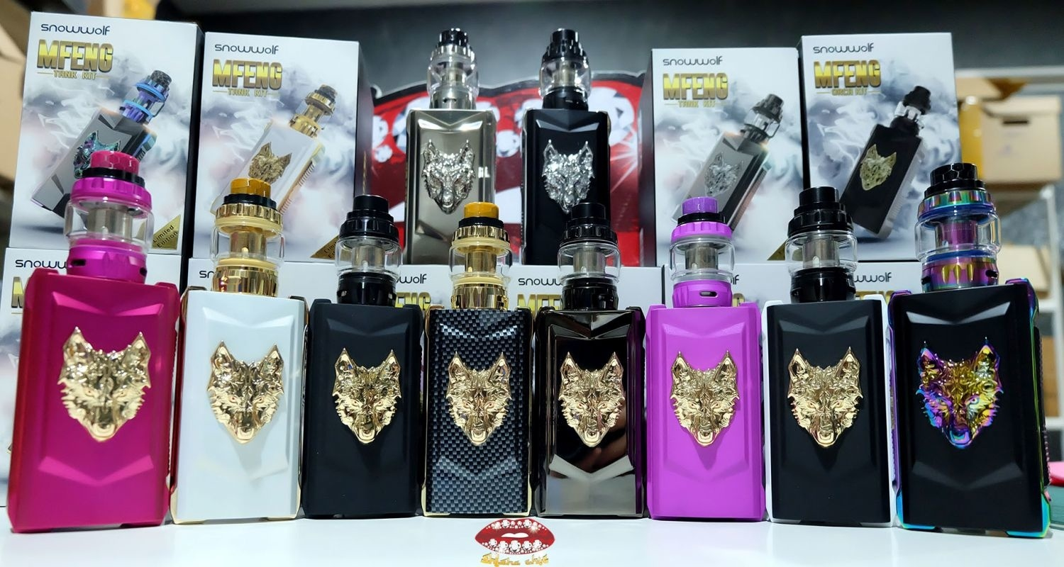 snowwolf mfeng 200w tc starter kit แท สวยมาก shisha chic