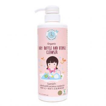 Organic Baby Bottle and Untensil cleanser