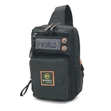 กระเป๋าสะพายคาดอก รุ่น B5938 (สีดำ)