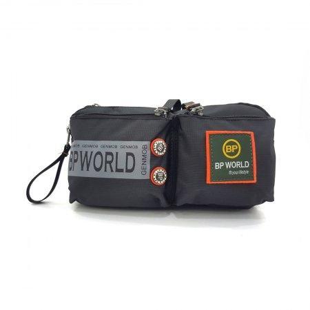 BP WORLD กระเป๋าคาดเอว รุ่น C6331 (สีดำ)