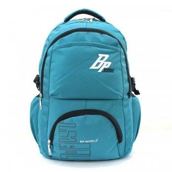 BP WORLD กระเป๋าเป้ รุ่น P1406 - สีฟ้า