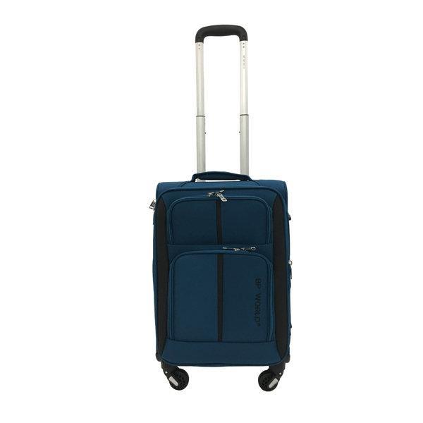 BP WORLD กระเป๋าเดินทาง รุ่น073 ขนาด20 นิ้ว สีน้ำเงิน