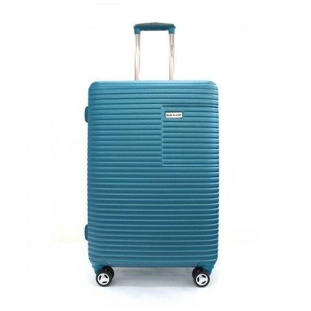 BLUE PLANET เซ็ทกระเป๋าเดินทาง รุ่น 147 ขนาด 25 นิ้ว และ 20 นิ้ว (สีฟ้า)