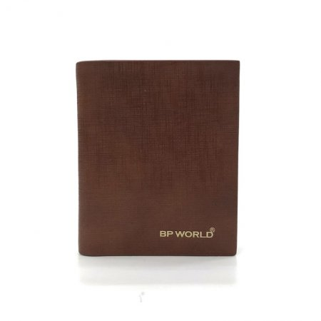 BP WORLD กระเป๋าธนบัตรหนังแท้ รุ่น BN2950 (สีน้ำตาล)